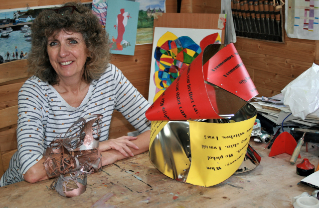 Lawyers with a side-hustle: Carolyn Swain, lawyer and artist
