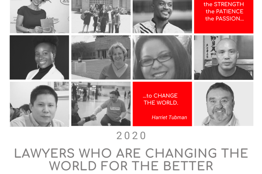 Lawyers Who Are Changing the World For the Better 2020